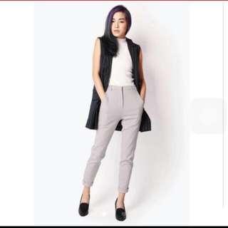 Afa Stans Cuff Pants In Grey
