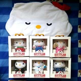 全新 Hello Kitty 35th x McDonald's 公仔套裝