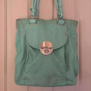 Mimco Seafoam Tote Handbag