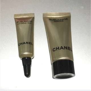 BN Chanel Sublimage Masque And Sublimage eye Creme