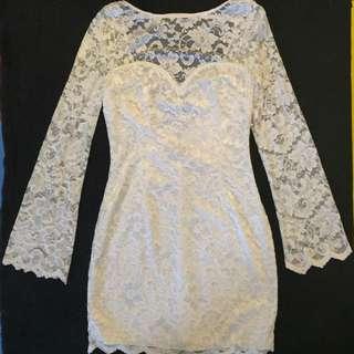 🛍 Open Back Dress Size 8