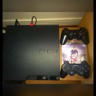 320GB PS3 + 2 Controllers, 3 Games, HDMI Cable
