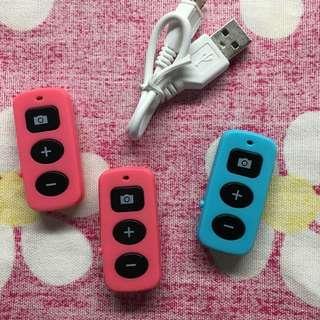 [現貨] 藍芽遙控器 免裝電池 USB充電式