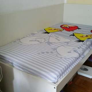 Ikea Single Bed With Mattress (Used)