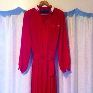 Vintage Melbourne Designer Dress S10