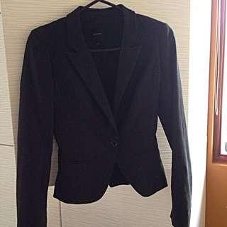 Portmans Suit Jacket Black Size 6