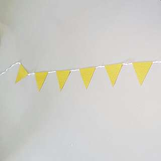 Party deco Bunting Garland triangle banner