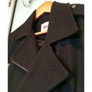 Therese Rawsthorne - black wool jacket