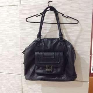 Nine West Bag Black Leather