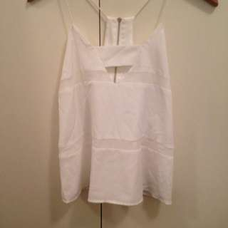 Finders Keepers Midnight Top BNWT