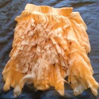 Natasha silk skirt