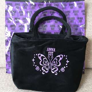 Brand New Black Anna Sui Bag  (Free Gift From Magazine)