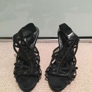 Zomp Black High Heels