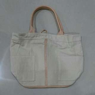 [全新]米白手提包