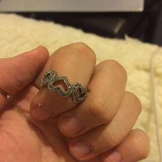 Sliver Heart Ring