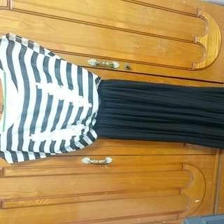 全新氣質長洋裝…下水沒穿過…適合SM的女孩