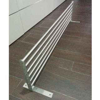 IKEA GRUNDTAL drying wall rack