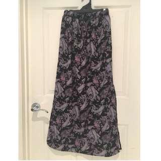 Ally Maxi Skirt Size 6