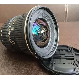 Tokina 12-24 F4(IF) DX - Nikon Mount