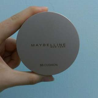 Maybelline氣墊粉餅 maybelline純淨礦物水凝BB氣墊粉餅 棉花糖粉餅