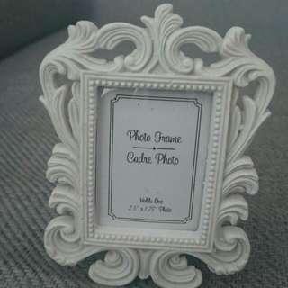 5 miniature vintage, baroque photo frames