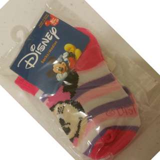 12-24 months Disney Minnie Mouse Socks 1 pair