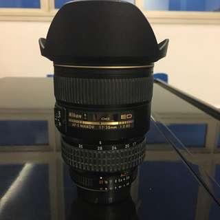 Nikon 17-35mm 2.8D