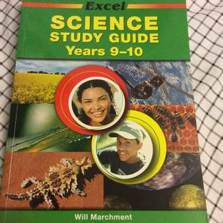 Year 9-10 Science Textbook