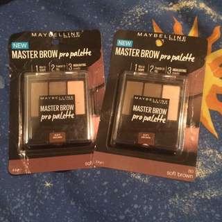 Maybeline Master Brow Pro Palette