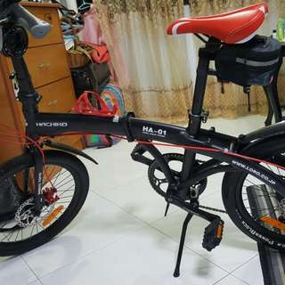 Hachiko Folding Bike 7 speed HA-01