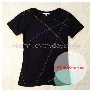 全部200免運‼香港品牌️5cm純棉短袖T恤