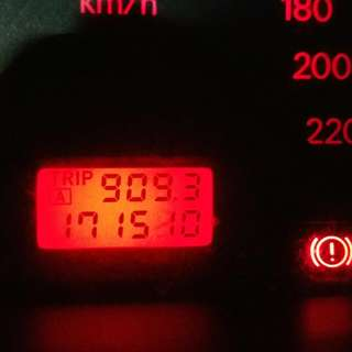 Mitsubishi Lancer Glx CS3 Speedo Meter