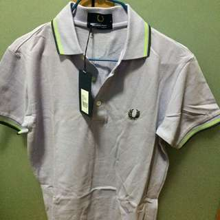 Fred Perry Polo 淺紫色