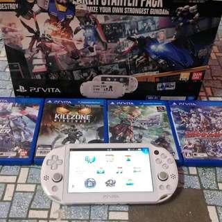 Ps vita 2k Gundam Breaker Starter Pack