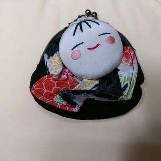 日本娃娃零錢包(口襟包)