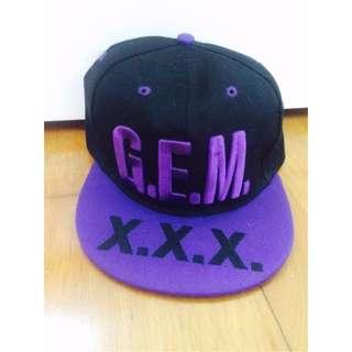 GEM X.X.X. 演唱會款帽子