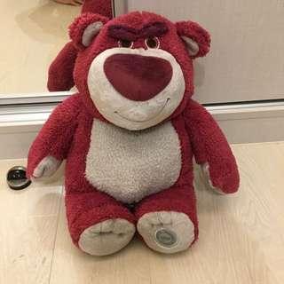 🚚 草莓味熊抱哥玩偶