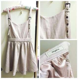 《專櫃日牌》Titty&co. 混羊毛吊帶裙