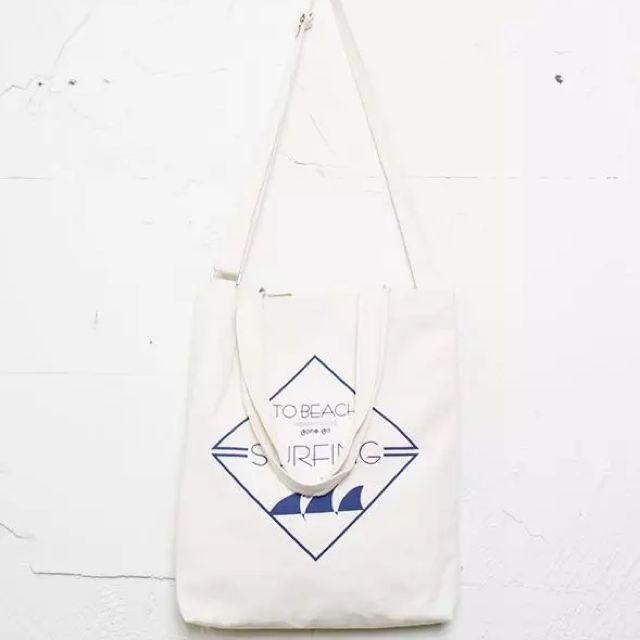 🌀手作自製奶酪同款兩用可調節拉鏈帆布袋