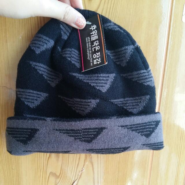 韓國時尚毛帽