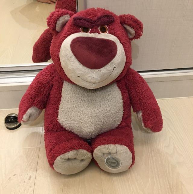 草莓味熊抱哥玩偶