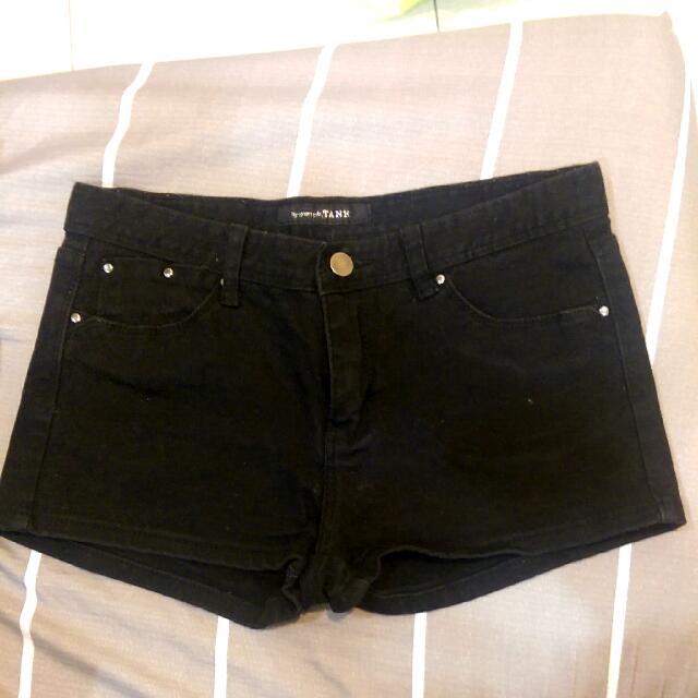 黑色 短褲 百搭款