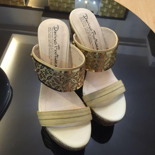 楔型 厚底 高跟鞋 正韓