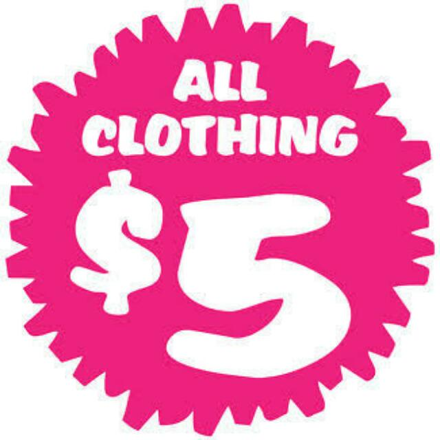 All Clothing Needs To Go! Final Price Before It Goes! Postage Is NOT Included In Price.