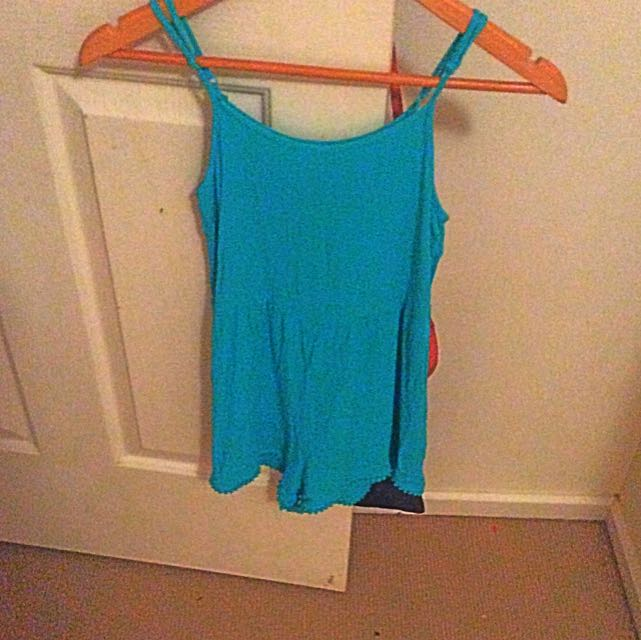 Aqua Playsuit