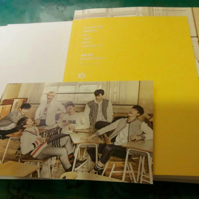 ASTRO 1st Mini Album Spring Up 出道 首張迷你專輯 韓版