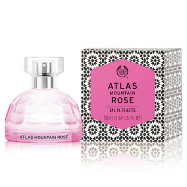 摩洛哥玫瑰淡雅香水ATLAS MOUNTAIN ROSE EAU DE TOILETTE 50ML