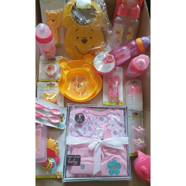 Baby Girl BULK LOT Gifts 0-6+ months Assorted Childrens Hamper 19PCS Kids NEW