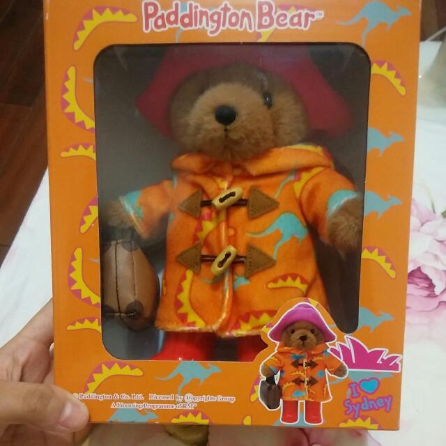 BC*柏靈頓寶寶熊公仔