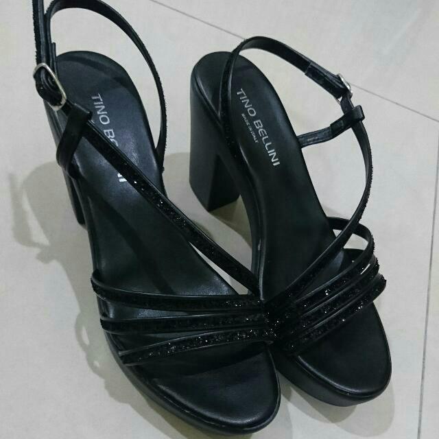 BELLINI貝里尼 黑色高跟鞋36號